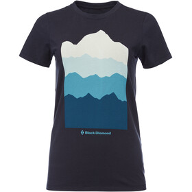 Black Diamond Vista T-Shirt Damen eclipse